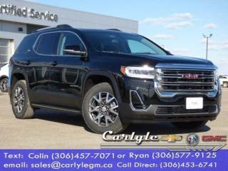 New 2020 GMC Acadia SLE for sale in Carlyle, SK