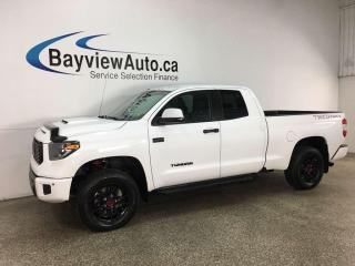 Used 2019 Toyota Tundra TRD Pro - 4X4! HTD LEATHER! NAV! + MORE! for sale in Belleville, ON