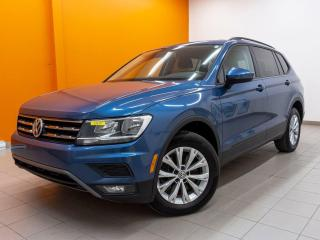 Used 2018 Volkswagen Tiguan 7 PASSAGERS TRENDLINE 4MOTION CAMÉRA ANDROID * for sale in Mirabel, QC