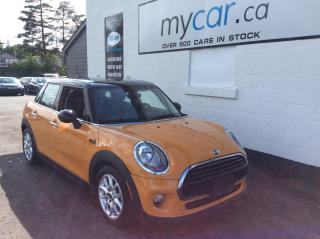 Used 2017 MINI Cooper Cooper LEATHER, SUNROOF, HEATED SEATS, RARE COLOUR!! for sale in North Bay, ON