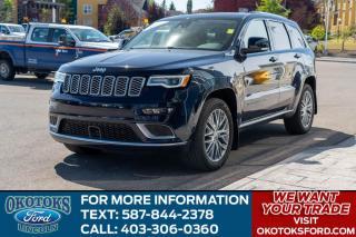 Used 2018 Jeep Grand Cherokee Summit SUMMIT/PLATINUM APP PKG/5.7 V8 HEMI/ for sale in Okotoks, AB
