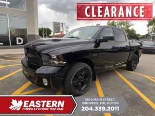 New 2019 RAM 1500 Classic SLT | EcoDiesel | Sunroof | Remote Start | for sale in Winnipeg, MB