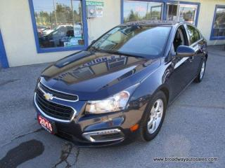 Used 2015 Chevrolet Cruze LOADED 2-LT MODEL 5 PASSENGER 1.4L - TURBO.. LEATHER.. HEATED SEATS.. POWER SUNROOF.. PIONEER AUDIO.. BACK-UP CAMERA.. BLUETOOTH SYSTEM.. for sale in Bradford, ON