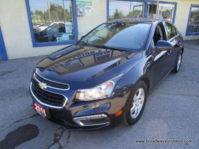 2015 Chevrolet Cruze LOADED 2-LT MODEL 5 PASSENGER 1.4L - TURBO.. LEATHER.. HEATED SEATS.. POWER SUNROOF.. PIONEER AUDIO.. BACK-UP CAMERA.. BLUETOOTH SYSTEM..