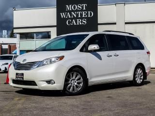 Used 2013 Toyota Sienna LIMITED|DVD|NAV|BLIND|DUAL ROOF for sale in Kitchener, ON