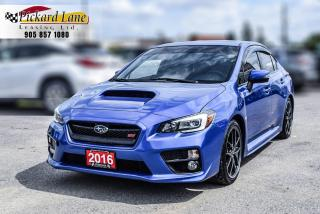 Used 2016 Subaru WRX STI Sport-tech Package ACCIDENT FREE! | CERTIFIED! for sale in Bolton, ON