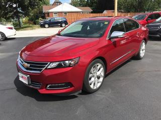 Used 2015 Chevrolet Impala LTZ - HEATED LEATHER, SUNROOF, REMOTE START! for sale in Windsor, ON
