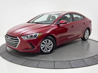 Used 2017 Hyundai Elantra LE BAS KM SIÈGES CHAUFFANTS for sale in Brossard, QC