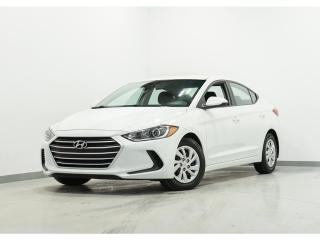 Used 2017 Hyundai Elantra LE GROUPE ÉLECTRIQUE A/C BLUETOOTH for sale in Brossard, QC