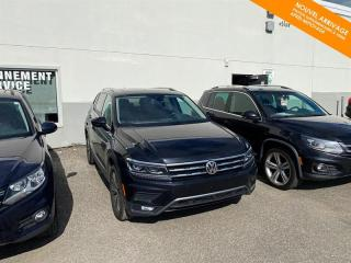 Used 2018 Volkswagen Tiguan RÉSERVÉ Highline 4MOTION + 7 Pass + Toit for sale in Québec, QC