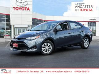 Used 2017 Toyota Corolla CE for sale in Ancaster, ON