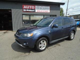 Used 2009 Mitsubishi Outlander XLS 4X4 ** 7 PLACES ** for sale in St-Hubert, QC