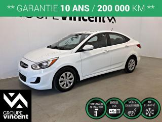 Used 2016 Hyundai Accent SE ** GARANTIE 10 ANS ** Véhicule fiable et pratique à bas kilométrage! for sale in Shawinigan, QC