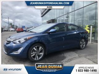 Used 2016 Hyundai Elantra MODÈLE GLS 31000 KILOS SEULEMENT for sale in Alma, QC