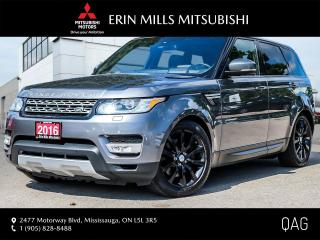 Used 2016 Land Rover Range Rover Sport DIESEL Td6 HSE Diesel Td6 HSE (2016.5) Rates from 3.99% OAC for sale in Mississauga, ON
