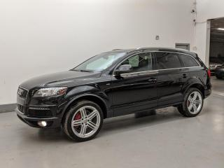 Used 2014 Audi Q7 TDI/TECHNIK/SPORT/ADAPTIVE CRUISE/ AUDI LANE ASSIST! for sale in Toronto, ON
