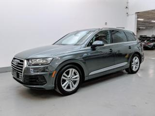 Used 2017 Audi Q7 TECHNIK/DYNAMIC PKG/MASSAGE SEATS/HEADS-UP DISPLAY/SOFT CLOSING DOORS! for sale in Toronto, ON