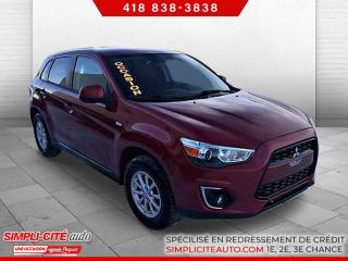 Used 2015 Mitsubishi RVR RVR AUTOMATIQUE TOUT EQUIPEE for sale in Lévis, QC