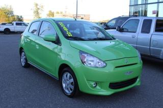 Used 2014 Mitsubishi Mirage garantie 10 ans automatique for sale in Lévis, QC