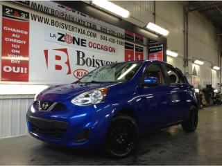 Used 2016 Nissan Micra MICRA A/C GROUPE ÉLECTRIQUE MAG NOIR SUPER LOOK ! for sale in Blainville, QC