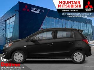 New 2020 Mitsubishi Mirage SE  - Android Auto -  Apple CarPlay for sale in Mount Hope (Hamilton), ON