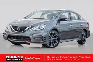 Used 2017 Nissan Sentra NISMO AUTOMATIQUE / NISMO VERSION SR TURBO / NAVIGATION / CAMERA for sale in Montréal, QC