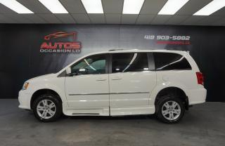 Used 2012 Dodge Grand Caravan CREW PLUS ** SAVARIA ** ADAPTÉ ** CUIR GPS 85 527 for sale in Lévis, QC