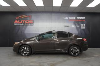 Used 2013 Honda Civic EX CVT AUTO TOIT OUVRANT MAGS BLUETOOTH 138 590 KM for sale in Lévis, QC