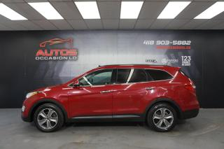 Used 2015 Hyundai Santa Fe XL AWD LUXURY 3.3L 7 PASSAGERS CUIR TOIT PANO TV DVD for sale in Lévis, QC