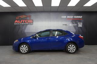 Used 2015 Toyota Corolla S ** SPORT ** CVT AUTO CAMERA BLUETOOTH 126 290 KM for sale in Lévis, QC
