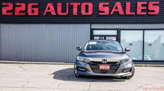 Used 2018 Honda Accord EX-L|ACCIDENT FREE|BACKUP CAM|SUNROOF|REMOTE START for sale in Brampton, ON