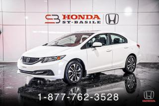 Used 2015 Honda Civic EX + TOIT + A/C + CRUISE + MAGS + WOW! for sale in St-Basile-le-Grand, QC