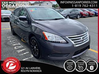 Used 2014 Nissan Sentra SV for sale in Rouyn-Noranda, QC