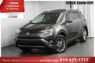 Used 2016 Toyota RAV4 Hybrid HYBRID| LIMITED| CUIR for sale in Drummondville, QC