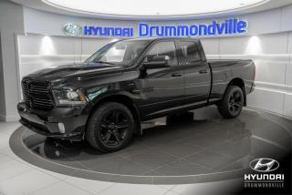 Used 2016 RAM 1500 SPORT + GARANTIE + CAMERA + ALPINE + MAG for sale in Drummondville, QC