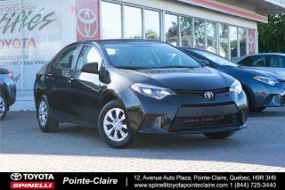 Used 2015 Toyota Corolla CE for sale in Pointe-Claire, QC