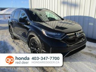 New 2020 Honda CR-V Black Edition 4dr AWD Sport Utility for sale in Red Deer, AB