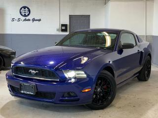 Used 2013 Ford Mustang V6|6 SPEED|DEEP IMPACT BLUE|WINTER TIRES INCLUDED| for sale in Oakville, ON