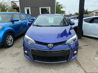 Used 2014 Toyota Corolla **SPORT**LOW KMS**SUNROOF**REARVIEW CAMERA**BLUETOOTH** for sale in Hamilton, ON