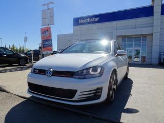 Used 2015 Volkswagen Golf GTI GOLF GTI/AUTOBAHN/SUNROOF/NAV/HETAEDSEATS for sale in Edmonton, AB