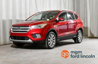 Used 2018 Ford Escape Titanium AWD for sale in Red Deer, AB