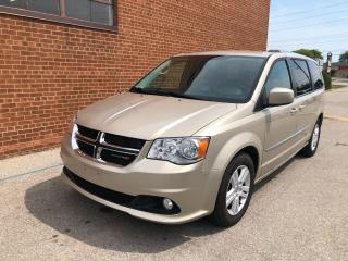 Used 2013 Dodge Grand Caravan Crew Plus, Navi/ Camera/ DVD/ Leather/ Pwr Doors/ for sale in Oakville, ON