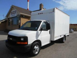 Used 2008 Chevrolet Express 3500 14Ft Aluminium Cube Van Loaded ONLY 83,000Km for sale in Etobicoke, ON