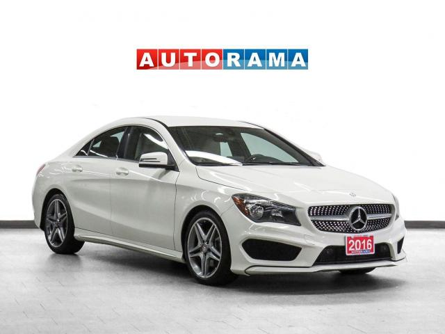 2016 Mercedes-Benz CLA 250 AMG Package 4Matic  Navigation Leather Bcam