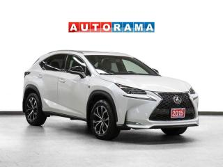 Used 2015 Lexus NX F-Sport AWD Navigation Leather Sunroof Backup Cam for sale in Toronto, ON