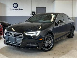Used 2017 Audi A4 NAV|360 CAM|DRIVE SELECT|BLIND SPOT|ACCIDENT FREE| for sale in Oakville, ON