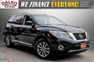 Used 2013 Nissan Pathfinder SL / 7 PASS / LEATHER / MOONROOF / BACK UP CAM / for sale in Hamilton, ON