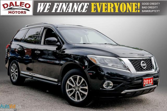 2013 Nissan Pathfinder SL / 7 PASS / LEATHER / MOONROOF / BACK UP CAM /