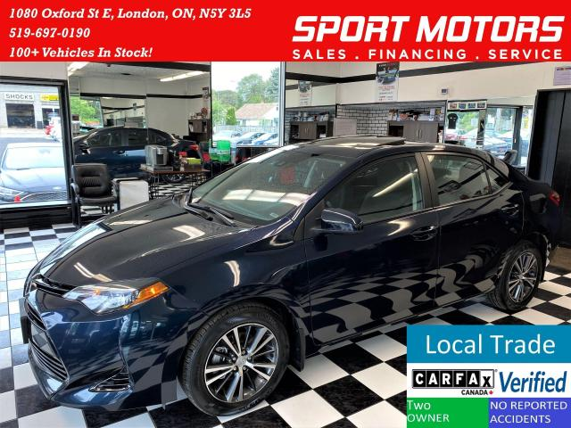 2018 Toyota Corolla LE+Sunroof+Heated Steering & Seats+Accident Free