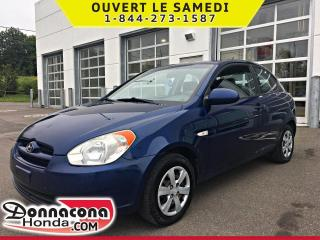 Used 2009 Hyundai Accent *JAMAIS ACCIDENTE* for sale in Donnacona, QC